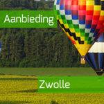 ballonvaart maken in Zwolle aanbieding