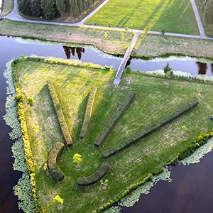 Opstijglocatie luchtballon Woerden Wijkpark Molenvliet