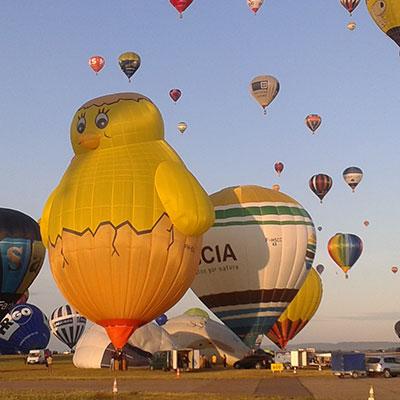 ballonvaren in Barneveld