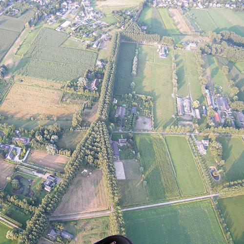 ballonvaren vanuit Venhorst