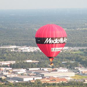 luchtballon boven Venhorst