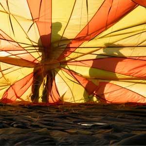 ballonvaart vanuit Alphen a/d Rijn