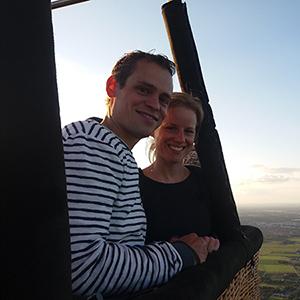 ballonvaart vanuit Deventer