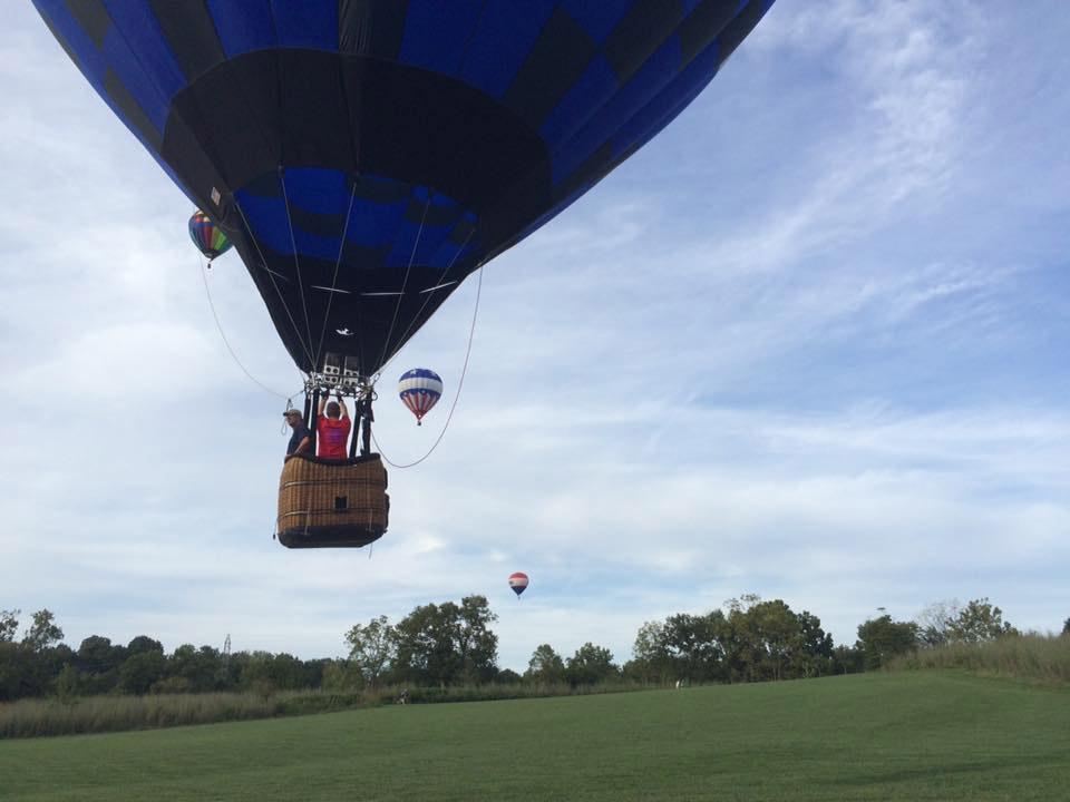 ballonvaart vanuit Gorinchem