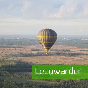 ballonvaart vanuit Leeuwarden