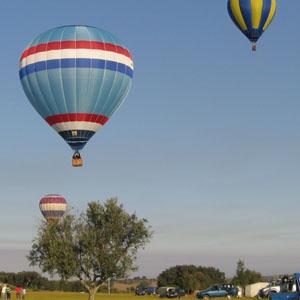 ballonvaart vanuit Nijmegen