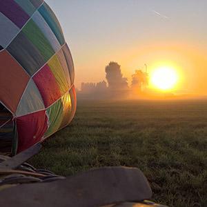ballonvaart vanuit Oldenzaal