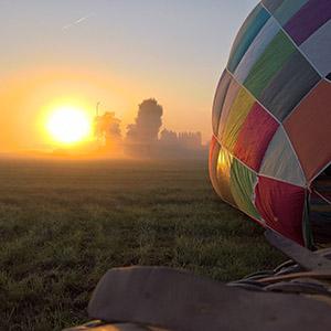 ballonvaart vanuit Oosterhout