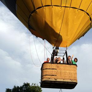 ballonvaart vanuit Oss