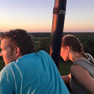 ballonvaart vanuit Sittard
