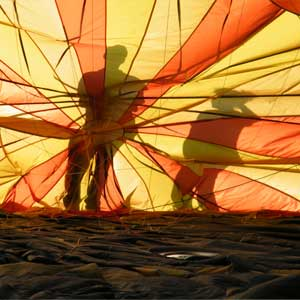ballonvaart vanuit Zoetermeer