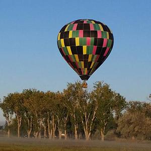 luchtballon boven Amersfoort