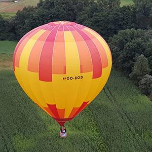 luchtballon boven Venray